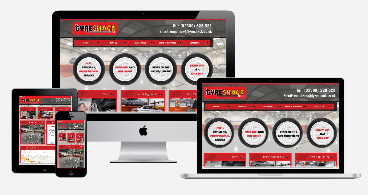 Tyreshack Web Design